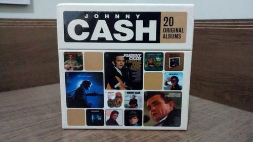 johnny cash 20 original albums - box pronta entrega