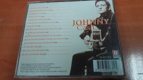 johnny cash, country legends, cd album muy raro del año 1999