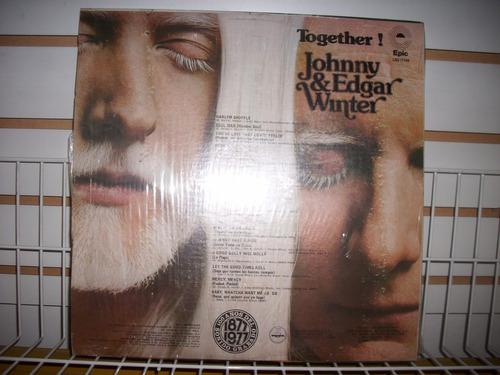 johnny & edgar winter - together! lp en muy buen estado