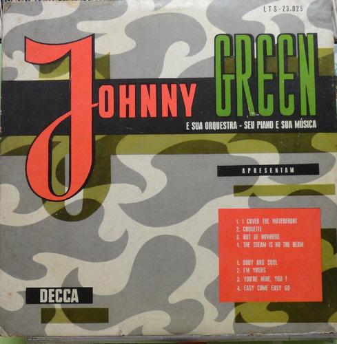 johnny green sua orquestra seu piano sua música - lp decca