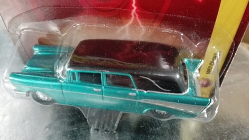johnny lightning - 1957 chevy carroza en blister