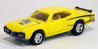 johnny lightning 1970 plymouth super bee (lacrado)