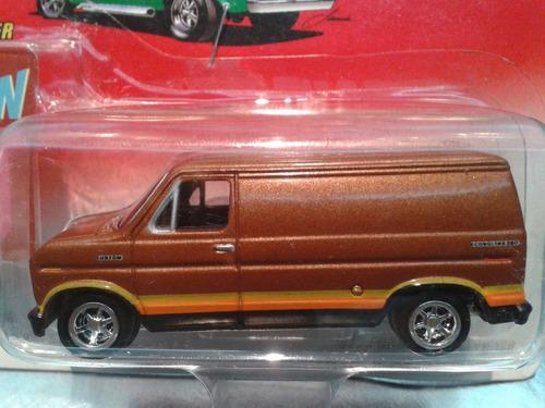 johnny lightning - 1977 ford van econoline 150 del 2002