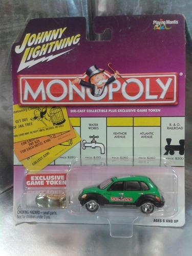 johnny lightning - 2001 chrysler pt cruiser de 2002 monopoly