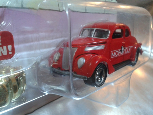 johnny lightning - 37 ford coupe del 2002 monopoly