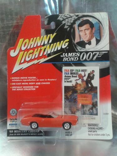 johnny lightning - 69 mercury cougar james bond 007 del 2001
