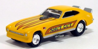 johnny lightning fearless funny cars pinto (lacrado)