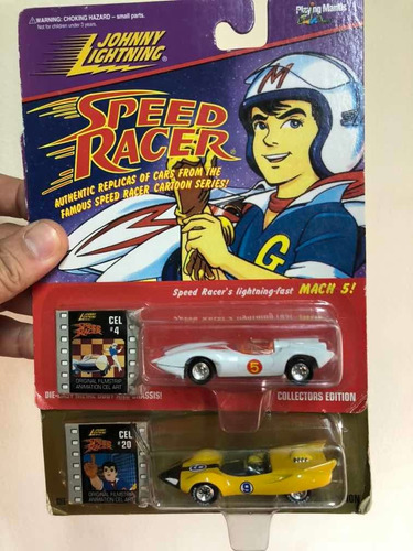 johnny lightning speed racer x6 meteoro enmascarado mach 5