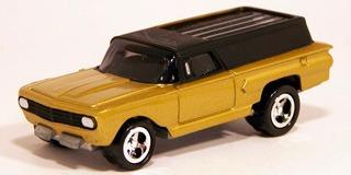 johnny lightning thunder wagon custom chevy wagon (lacrado)