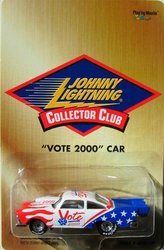 johnny lightning vote 2000 car 1957 plymouth (lacrado)