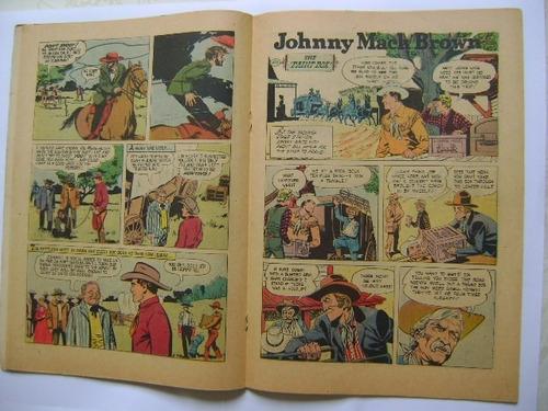 johnny mack brown nº 922 ano 1958 dell publishing co.
