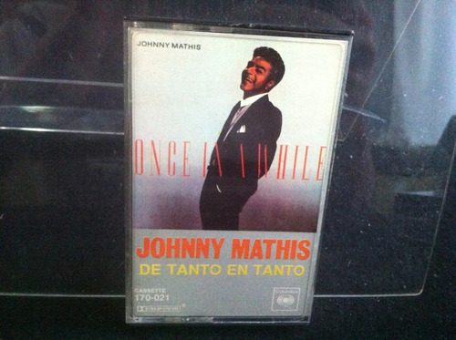 johnny mathis de tanto en tanto once in a while cassette ca2