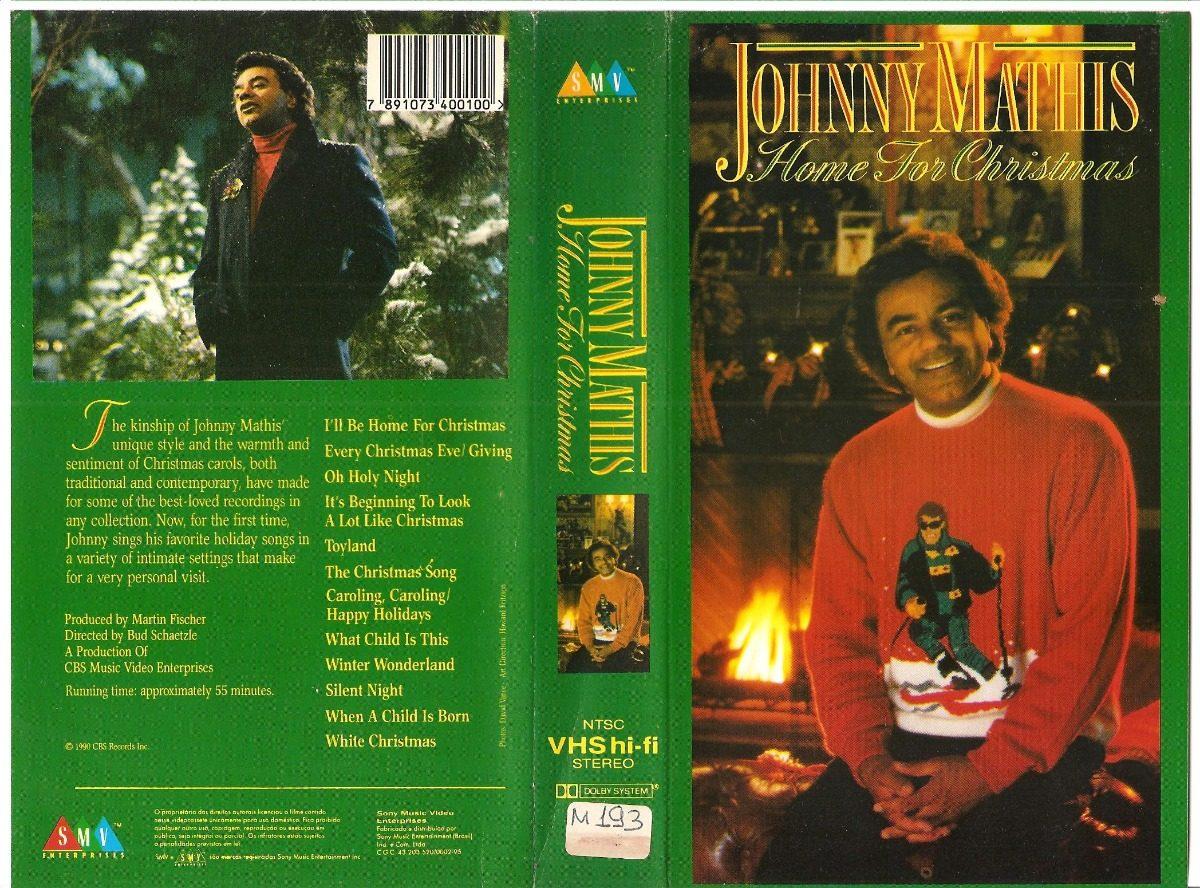 Johnny Mathis Home For Christmas + Chances Are - Raro 2v - R$ 140,00 ...