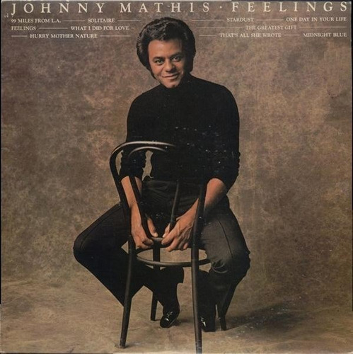 johnny mathis - lp feelings (1975)* stereo*