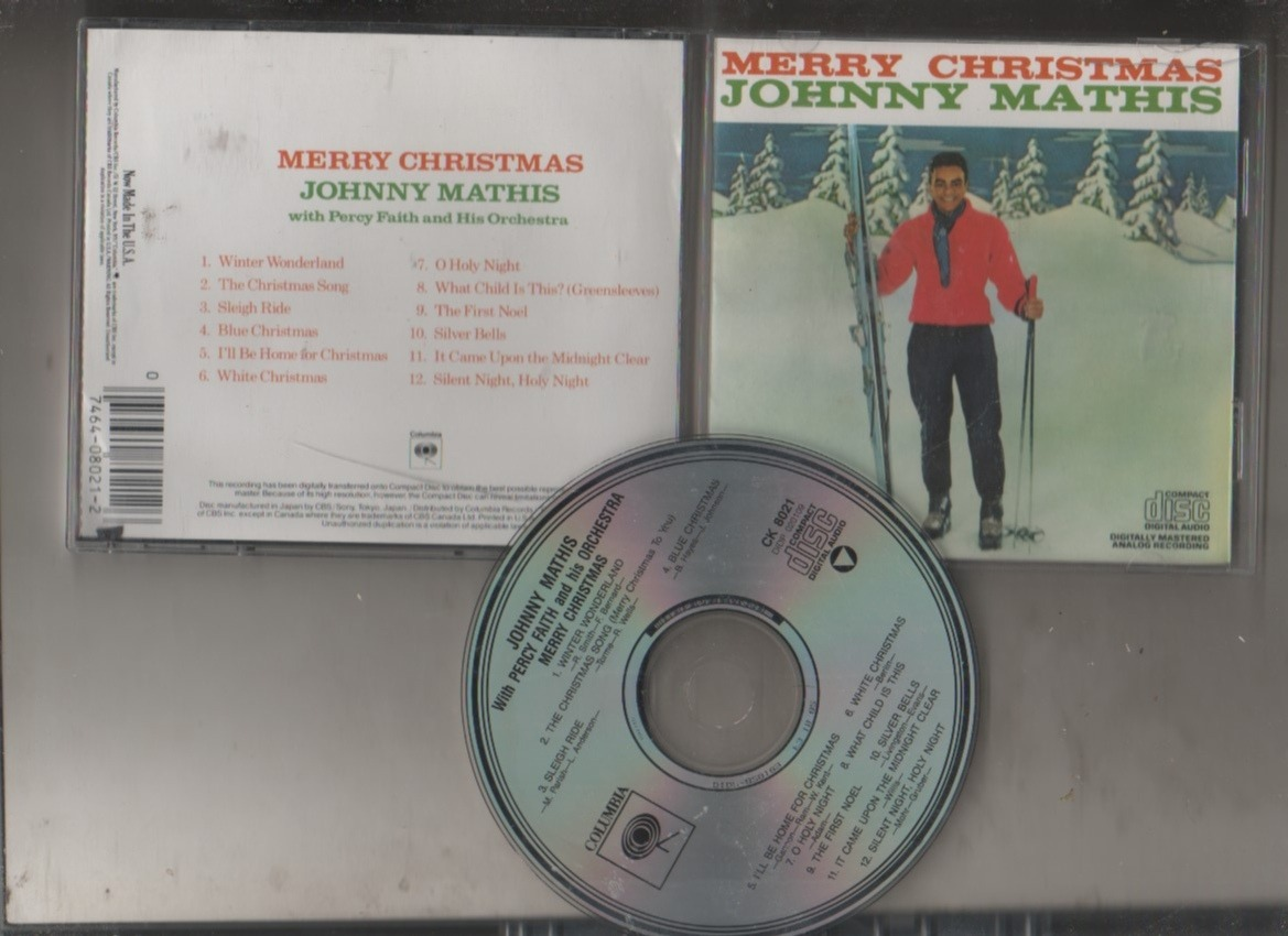 Johnny Mathis - Merry Christmas -cd- Usa - Maceo-disqueria - $ 148 ...