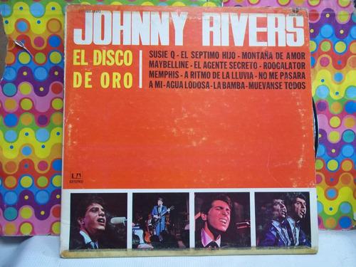 johnny rivers lp el disco de oro ,seminuevo