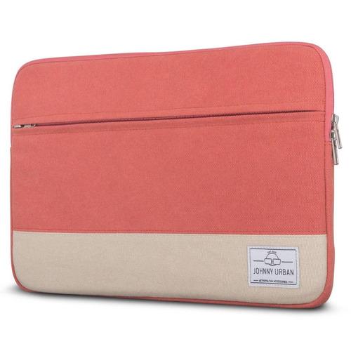 johnny urban canvas laptop sleeve 11 - 12 pul + envio gratis