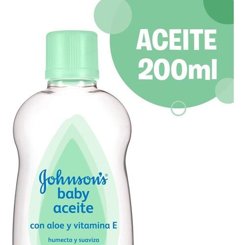 johnson's baby aceite con aloe 200ml
