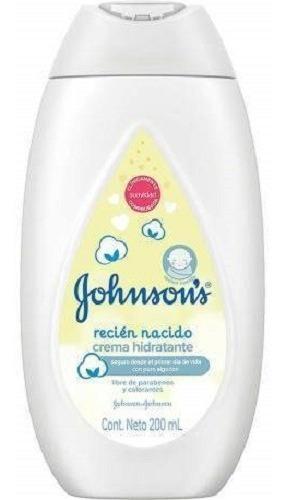 johnsons baby crema hidratante recién nacido x 200 ml