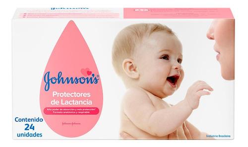 johnson's baby protectores mamarios de lactancia 24 unidades