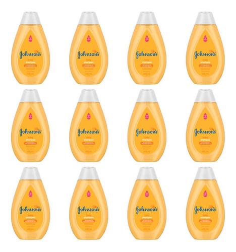 johnsons baby tradicional shampoo 400ml (kit c/12)