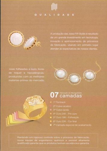 joia bracelete ouro