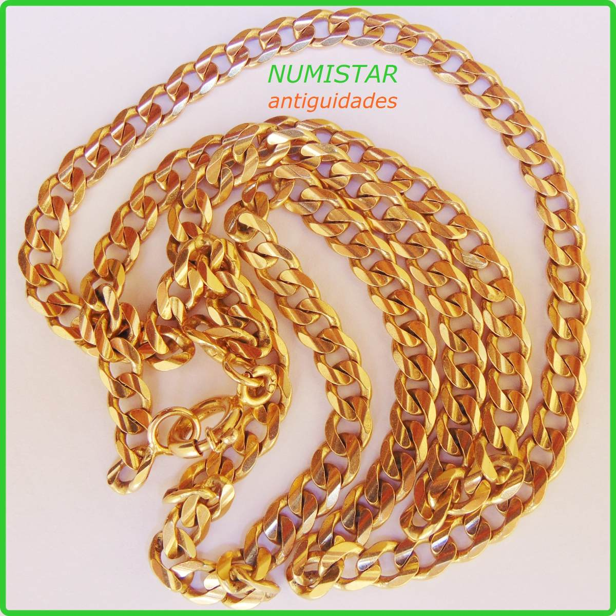 fce5c8742b5 Joia Corrente Grumete Cordão Ouro 800 Acima 18k 750 41.6 Gr. - R ...