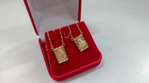jóia ouro escapulário
