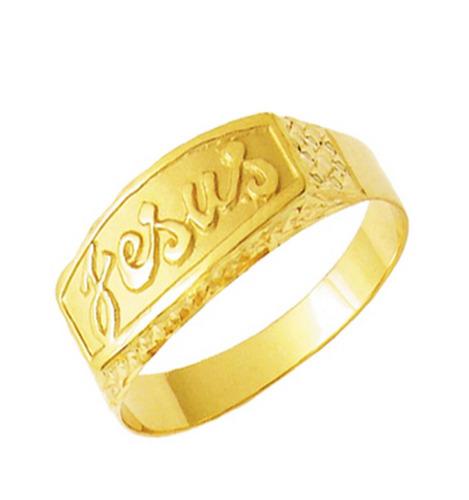 jóias anel ouro