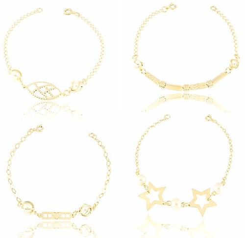 joias banhado ouro