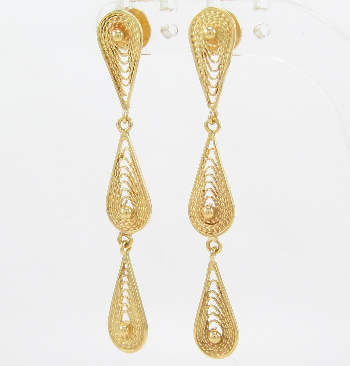 cea36ce0d7a esfinge jóias - brinco grife vivara pendente em ouro 18k 750. Carregando  zoom... jóias brinco ouro. Carregando zoom.