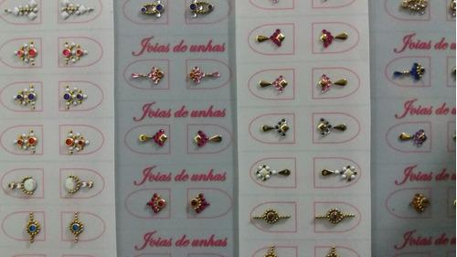 joias de unhas, mini joias de unhas. pronta entrega.