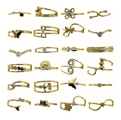joias folheadas kit contendo 80 peças atacado para revenda