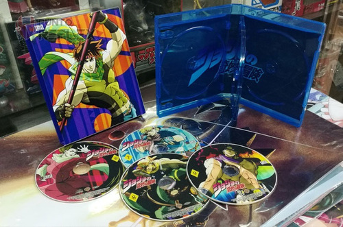 jojos bizarre adventure bluray box