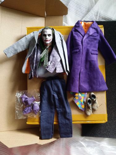 joker custom coringa 1/6 (hot toys enterbay dx11 batman dc)
