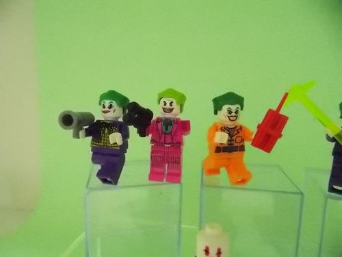 joker e palhaços assassinos gangue do joker bloco 12 bonecos