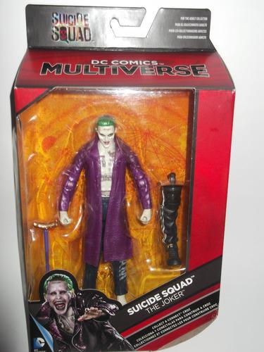 joker figura el guason suicide comando dc multiverse dist0