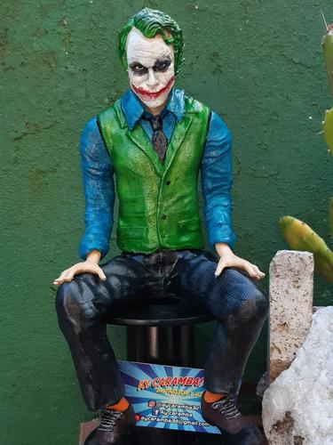 joker - guasón ( batman) 27cm impresión 3d-