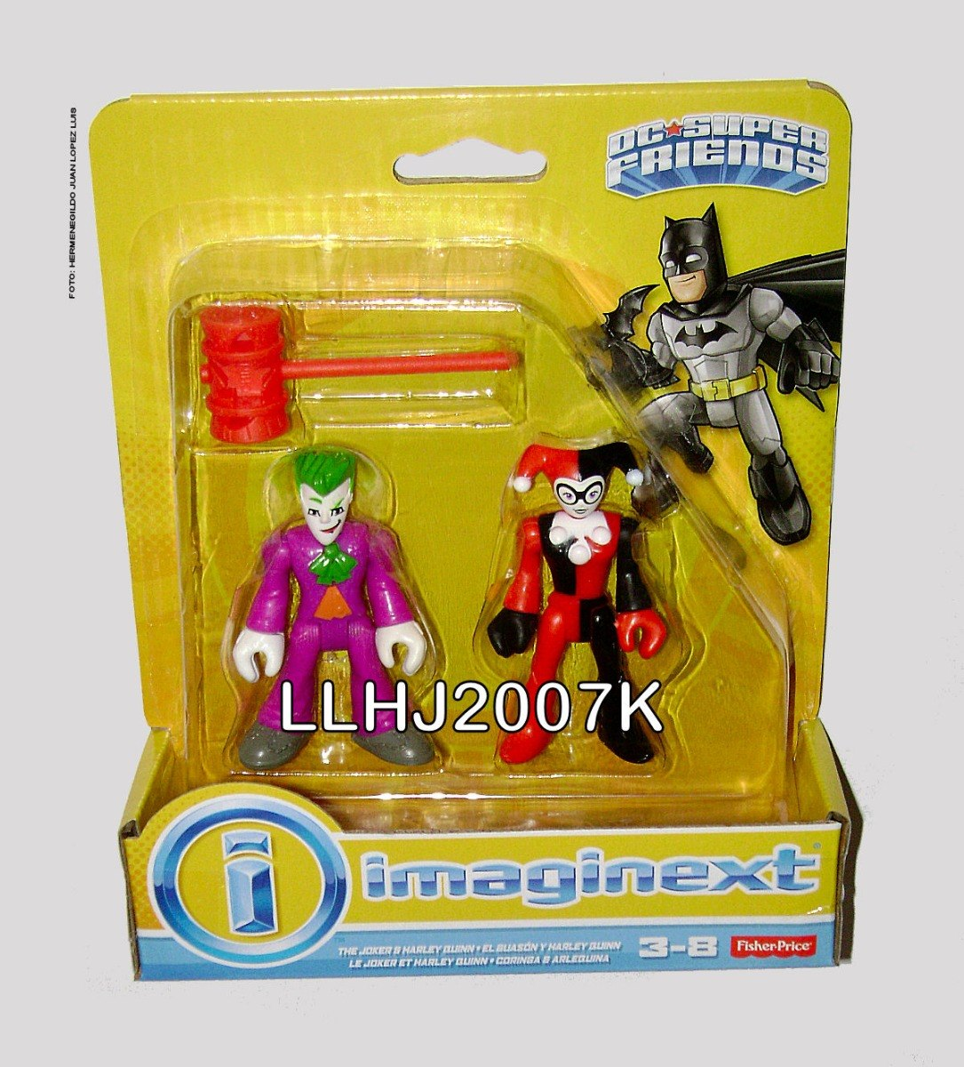7537f9542d7f joker   harley quinn super friends batman dc imaginext baf. Cargando zoom.