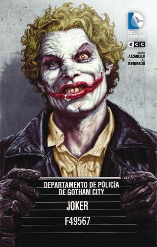 joker libro batman dc ecc castellano comic color azzarello