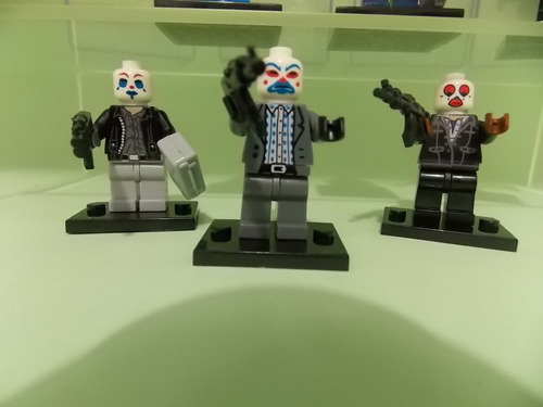 joker o coringa 6 versôes mais 6  palhaços assassinos blocos