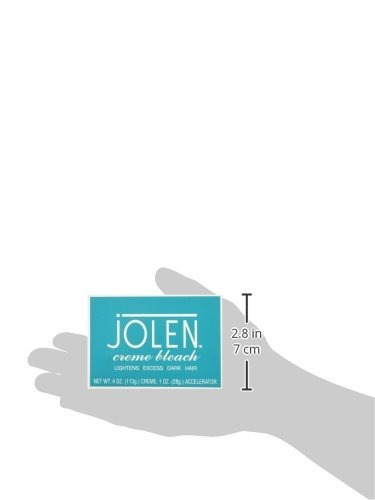 jolen creme bleach regular 4 oz (conjunto de 3)