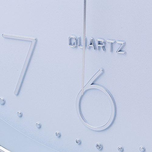 jomparis modern 12 -inchreloj de pared silencioso y antiarra