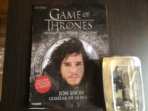 jon snow - figuras game of thrones pintadas a mano