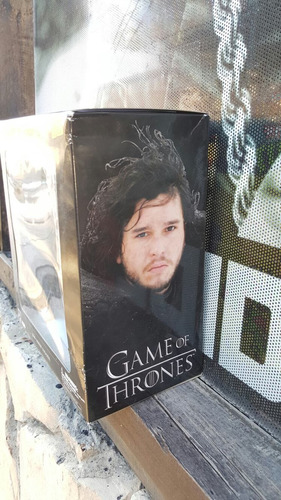 jon snow game of thrones got figura muñeco edicion hbo