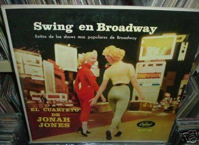 jonah jones swing en broadway vinilo argentino