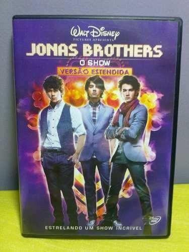 jonas brothers dvd o show versão estendida