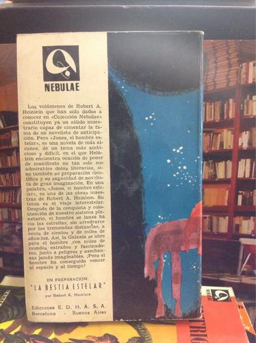 jones el hombre estelar. robert heinlein. novela
