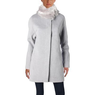 New Mujeres Lana Coat York Abrigos Coche Yptrqwuv Gris Invierno Jones OxIFWqS7A