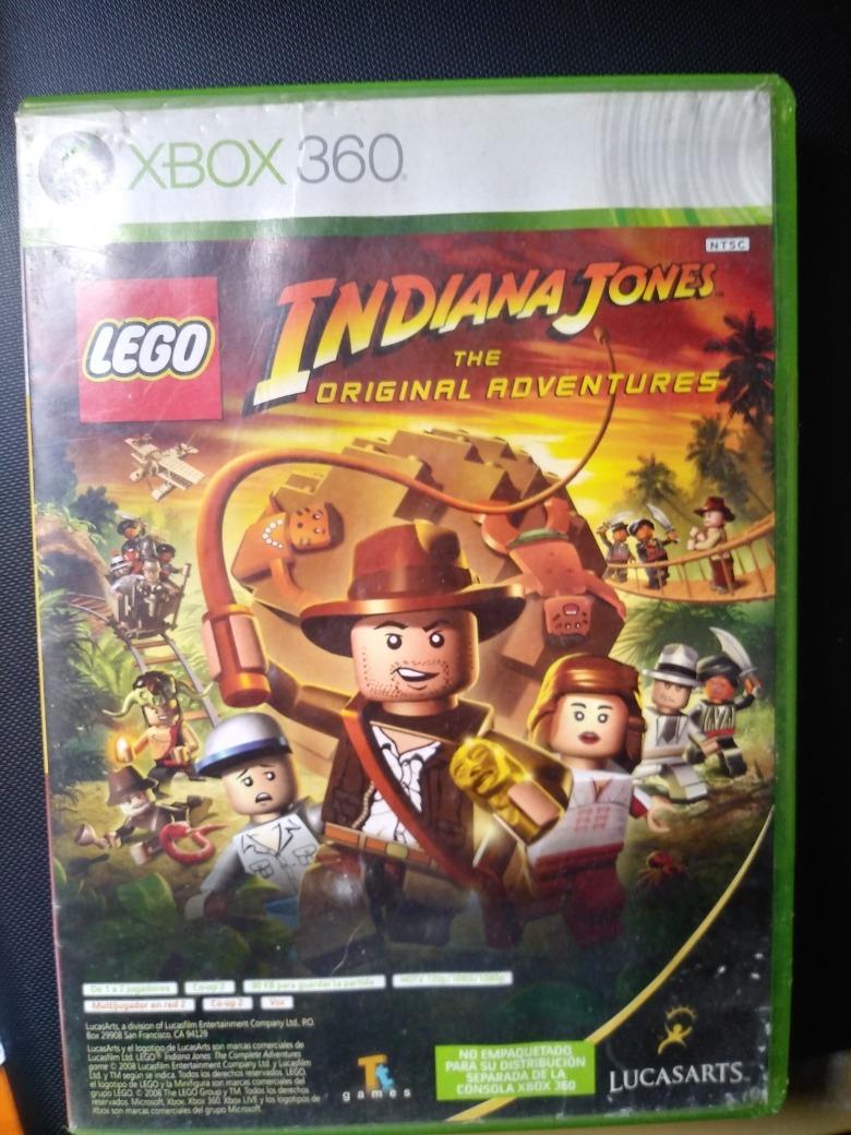 2 Juegos En 1 Kung Fu Panda Y Lego Indiana Jones Xbox 360 370 00
